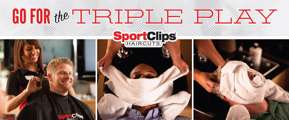 The Sport Clips Haircuts of Greece Triple Play