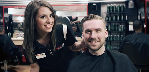 Sport Clips Haircuts of Greece​ stylist hair cut